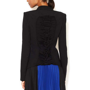 BCBGMAXAZRIA  Black Patrick Blazer  Size: 6 (S)